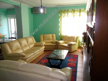 Apartment for rent in Sami Frasheri Street in Tirana. It is situated on the 9-th floor in a new bui