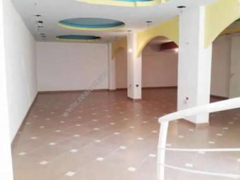 Store for rent in Saraceve Street in Tirana.