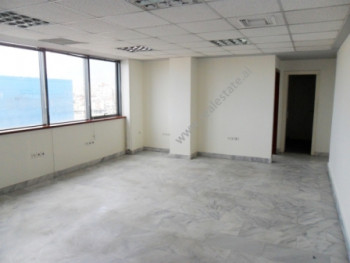 Office space for rent at the beginning of Kavaja Street in Tirana. It is situated on the upper floo