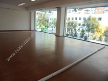 Office space for rent in Sami Frasheri Street in Tirana. It is situated on the second floor of a ne