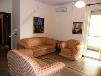 Apartment for rent in Pjeter Budi Street in Tirana. It is situated on the 4-th floor in the new bui