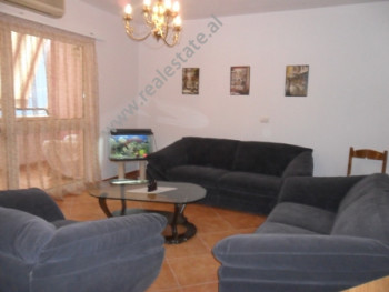 Apartment for rent in Nikolla Tupe Street in Tirana. It is situated on the 5-th floor in a new buil