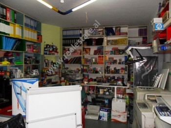 Store for sale in Abdi Kazani Street in Tirana.