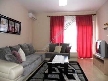 Modern apartment for rent in Don Bosko Street in Tirana. It is situated on the 5-th floor in a new