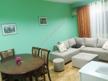One bedroom apartment for rent in Myslym Shyri street in Tirana. Positioned on an old building. Th