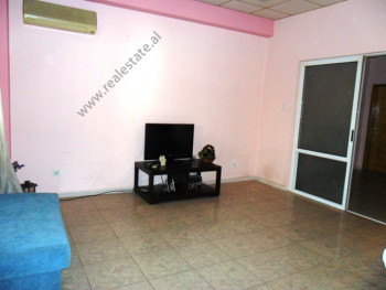 Two bedroom apartment for office for rent in Mujo Ulqinaku Street in Tirana.