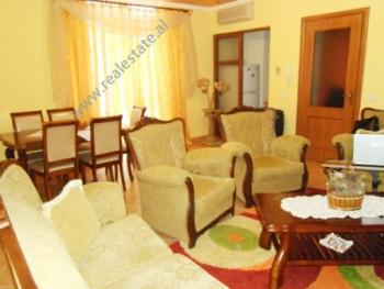 Two bedroom apartment for rent in Ekspozita area in Tirana, in Gjergj Fishta boulevard. Positioned o