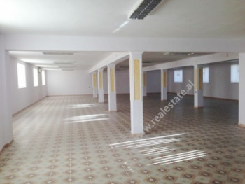 Warehouse for rent near Siri Kodra street in Tirana.