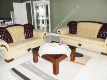 Two bedroom apartment for rent in the beginning of Durresi street in Tirana. The apartment is