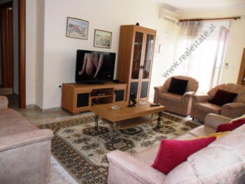 Apartment for rent in Reshit Collaku Street in Tirana. It is situated on the 8-th floor of a new bu