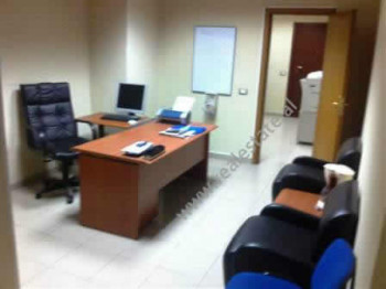 Modern office for rent at the beginning of Kavaja Street in Tirana. It is situated on the 8-th floo