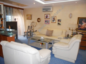 Apartment for sale near Tish Dahia Street in Tirana. It is situated on the 11-th floor in new build