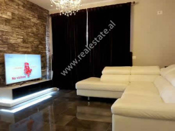 Modern apartment for rent near Don Bosko Street in Tirana.  It is situated on the third floor of a