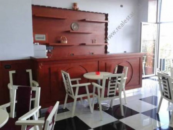 Modern Coffee Bar for rent in Bulevardi Blu Street in Tirana.