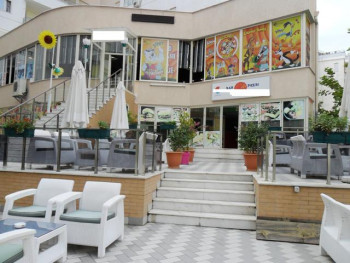 Bar, pizzeria and children playground for sale near Eshref Frasheri Street in Tirana.