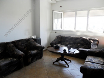 Apartment for rent in Dritan Hoxha Street in Tirana. It is situated on the 7-th floor in a new buil