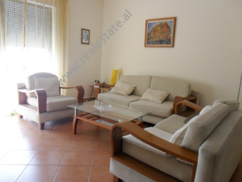 Apartment for rent in Perlat Rexhepi Street in Tirana.