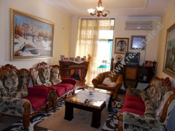 Apartment for sale at the beginning of Kavaja Street in Tirana. It is situated on the 12-th floor i