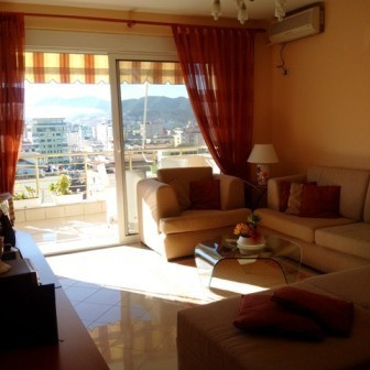 Apartment for rent in Brigada e VIII Street in Tirana.The flat is situated on the 11th floor of the