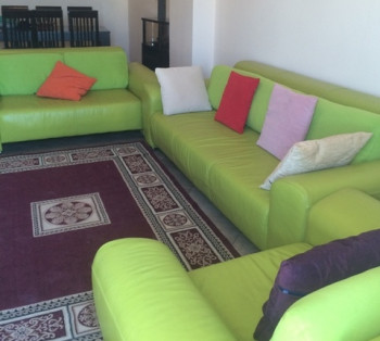 Apartment for rent in Sadik Petrela Street in Tirana. The apartment is situated on the 7 and the la