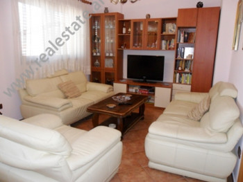 Apartment for rent in Nasi Pavllo in Tirana. It is situated on the 8-th floor in a new building, cl