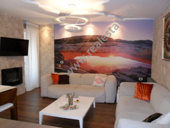 Modern apartment for rent in Sami Frasheri Street in Tirana.