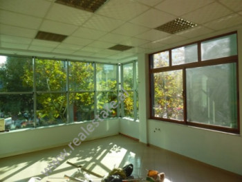 Office space for rent in Lord Bajron Street in Tirana The office is situated on the second floor of