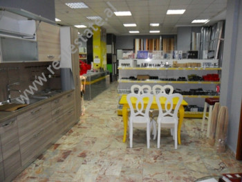 Store for rent in Kongresi i Tiranes Street in Tirana. It is situated on the first and the basement