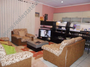 Apartment for rent at the beginning of Myslym Shyri Street in Tirana.  It is situated on the 6-th