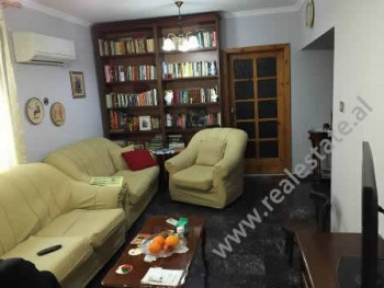 Apartment for rent in Gjin Bue Shpata Street in Tirana. It is situated on the 2-nd floor in a build