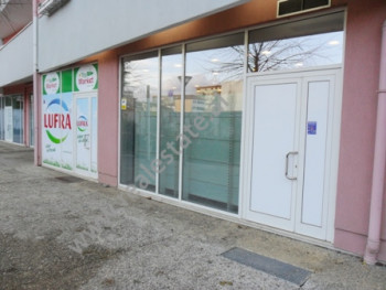 Shop for sale near Frosina Plaku Street in Tirana.