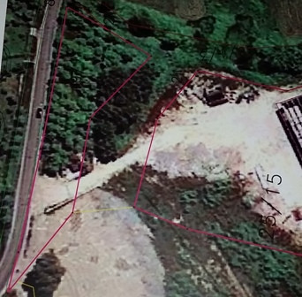 Land for sale in Rinas area, in Aeroport Street. The land has 3000 m2 of surface registered as a fr