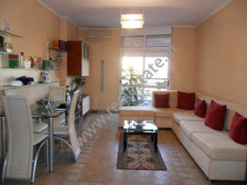 Apartament me qera ne bulevardin Gjergj Fishta ne Tirane. Ndodhet ne katin e 4-rt ne nje pallat te