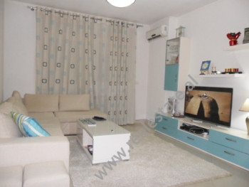 Apartment for rent in Eshref Frasheri Street in Tirana. It is situated on the 7-th floor in a new b