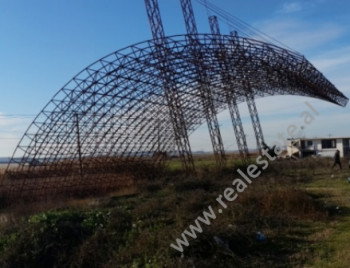 Land and Gas station for sale near Lushnje City. The land has 4000 m2 of space and 1280 m2 of const