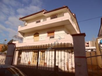 Three storey villa for sale in Artan Lenja Street in TIrana It has 460 m2 of living space distribut