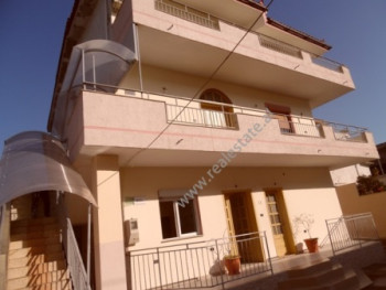 Three storey villa for rent in Artan Lenja Street in TIrana