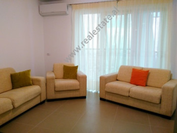 Apartment for rent near Dervish Hima Street in Tirana. With 94 m2 of space the flat is distributed