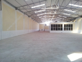 Warehouse for rent in Limuthit Street in Tirana.