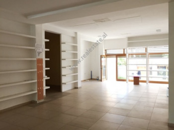 Store for rent in Xhorxhi Martini Street in Tirana. It is situated on the first floor in a new buil