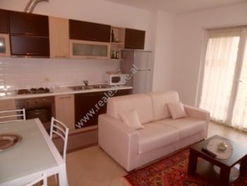 Apartament 1+1 me qera ne rrugen e Elbasanit ne Tirane. Apartamenti ndodhet ne katin e trete te nje