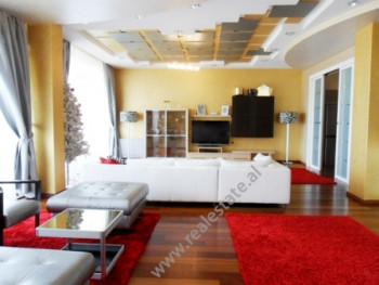 Four bedroom apartment for rent in Ismail Qemali Street in Tirana.