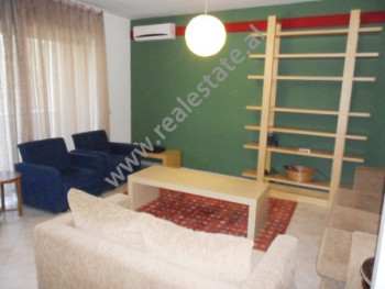Apartment for rent at the beginning of Sami Frasheri Street in Tirana. It is situated on the 3-rd f