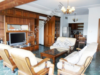 Apartment for rent near Fadil Rada Street in Tirana. It located on the 9-th in a new building equip