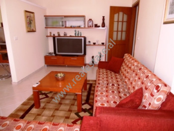 Two bedroom apartment for rent in Rreshit Collaku Street in Tirana. The apartment is situated on th