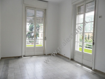 Office for rent in Ismail Qemali Street in Tirana. It is situated on the 3-rd floor in a 3-storey b