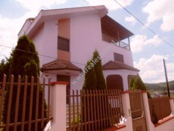 Three storey villa for rent in Mjull-Bathore area in Tirana. The villa is located in a quiet area t