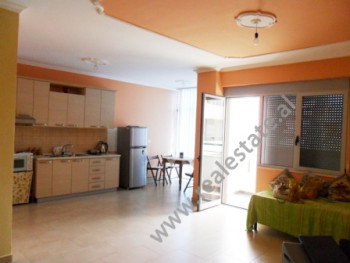Two bedroom apartment for office for rent near Selvia area in Tirana. It is situated on the 6-th fl