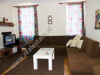 Apartment for rent close to Kavaja Street in Tirana.  It is situated on the 7-th floor in a new bu