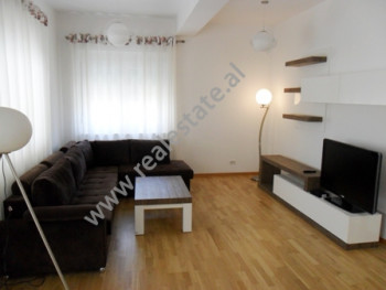 Modern apartment for rent in Touch of Sun Residence in Tirana. It is situated on the 2-nd floor in a